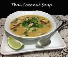 Thai Coconut Soup!
