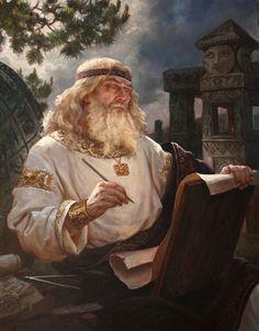 Числобог – картина художника Андрея Шишкина