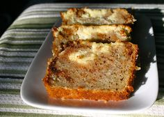 My Retro Kitchen: Apple Cream Cheese Quick Bread Cream Bread Recipe, Cream Cheese Bread, Delicious Desserts, Dessert Recipes, Yummy Food, Dessert Bread, Fall Baking, How Sweet Eats, Quick Bread