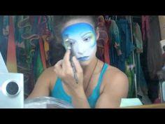 Ever wondered how Cirque du Soleil artists do their makeup?  Makeup from Varekai