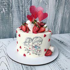 Cake Wrecks - Home Fondant Cupcake Toppers, Cupcake Cakes, Beautiful Cakes, Amazing Cakes, Engagement Cake Design, Aniversary Cakes, Cake Wrecks, Valentine Cake, Cake & Co