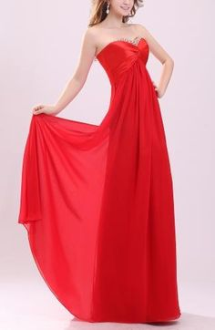 Elegant Chiffon Prom Gowns - Order Link: http://www.theweddingdresses.com/elegant-chiffon-prom-gowns-twdn7844.html - Embellishments: Pleated , Paillette , Beaded , Ruching , Sequin , Rhinestone; Length: Floor Length; Fabric: Chiffon; Waist: Empire - Price: 125.99USD