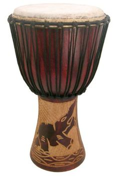 The Drum Circle Djembe by Africa Heartwood Project is designed to offer a budget drum for the beginner drummer whose...