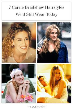 Sex And The City, Carrie Bradshaw, hairstyle, beauty