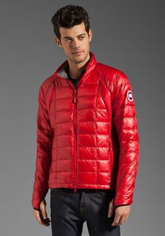CANADA GOOSE 2012 Outside Gear of the Year Hybridge Lite Jacket in Red at Revolve Clothing - Free Shipping!
