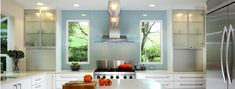 There's nothing quite light blue for adding an element of freshness to a living space.