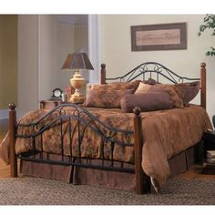 Hillsdale 1010BK Madision Bed Set - King - Rails not included - HillsdaleSuperStore