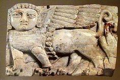 NIMRUD 8th Century B.C. ivory