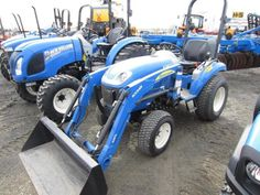 New Holland Boomer 25 Tractor - March 23, 2015. ONLINE ONLY AUCTION - Prairie Farm, Wisconsin.
