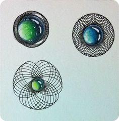 Noch mehr Gems | Freude mit Zentangle