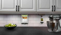 Ipad And Iphone Docks On Under Cabinet Strip Outlets Adorne Collection Under  Cabinet Lighting   Kitchen   Other Metro   Legrand, North America