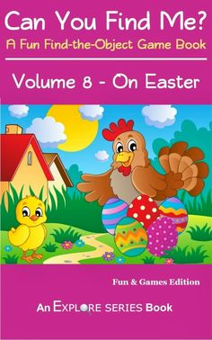Can You Find Me On Easter? children's #kindle book (free download 3-17-14)