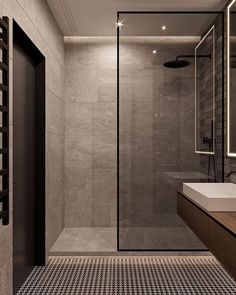 "THE LUXURY INTERIOR on Instagram: ""Oh, that's what I call a master shower! Love so much the minimalistic design 😍"""