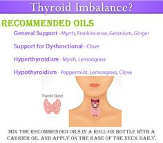 THYROID IMBALANCE? Certified Pure Therapeutic Grade DoTERRA Essential Oils for General Gland Support and Hyper & Hypothyroidism. Oils Available @www.mydoterra.com/jillmccoy1