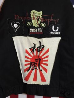 DROPKICK MURPHYS Black Dickies Quilted Jacket Size 2XL Collectible Gift