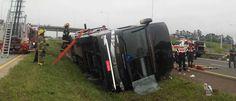 Noticias ao Minuto - Ônibus com brasileiros tomba na Argentina; há mortos e feridos
