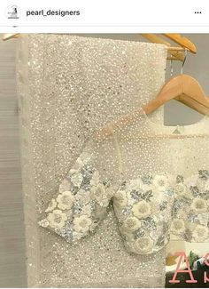RE - Partywear off white net sequence embroidered saree - Designer Sarees - Sarees - Indian White Saree Blouse, Net Saree Blouse, Saree Dress, Off White Saree, Sari Blouse Designs, Blouse Patterns, White Blouse Designs, Saree Jackets, Woman Fashion
