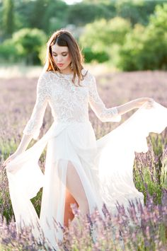 An 'After-Wedding' Shoot in Provence, France