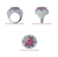 Promesee d' Amour ring- Peau d'Âne- Fine Jewelry Collection by Van Cleef & Arpels
