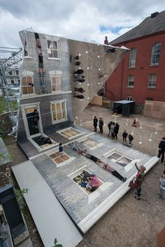 The Dalston House by Leandro Erlich