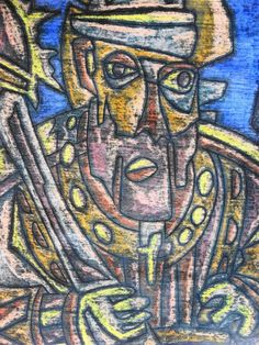 Chevalier portugais sculpté 2_ Karim Merzougui (artiste peintre) - Google+