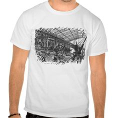 Building site of the Galerie des Machines T Shirt, Hoodie Sweatshirt