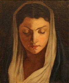 Maria Wiik: Madonna Scandinavian Modern, Madonna, Finland, Modern Art, Disney Characters, Fictional Characters, Pastel, Artists, Board