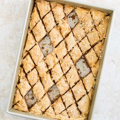 Pistachio Baklava with Cardamom and Rose Water