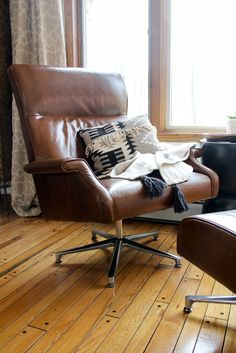 The Perfect Camel Leather Armchair