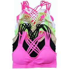Just In!! Racerback strappy bralette New gorgeous unique design racerback, strappy, removable cups and elasticized trim to ensure a comfortable fit. Perfect amount of stretch.  88% Nylon, 12% Spandex coming in 4 colors. Berry, Black, Dark Gray and Light Mint selling price $20.00 Naturally Spiritual Boutique Intimates & Sleepwear Bras