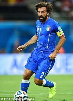 Italy recorded an astonishing per cent passing accuracy during their win against England on Saturday night which is the highest ever recorded in a single World Cup game since Best Football Players, Soccer Players, Football Soccer, Basketball, Fifa, World Cup Games, Andrea Pirlo, World Cup 2018, My Hero