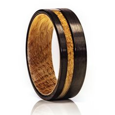 Whiskey Barrel Ring, Tungsten Wood Ring, 8mm Comfort Fit Wedding Band Tungsten Carbide Wedding Bands, Tungsten Carbide Rings, Titanium Rings, Antler Ring, Barrel Rings, Unique Wedding Bands, Wood Rings, Unique Rings, Fit