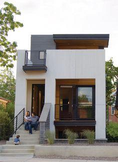 Denver   Tomecek Studio   Note Flow Of Front Porch, Second Story Deck. 2311