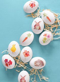Inspiration Ostereier bemalen Eggs The Easiest Egg Decorating Ideas For Your Most Egg-cellent Easter Yet Easter Egg Crafts, Easter Eggs, Easter Table, Bunny Crafts, Easter Gift, Easter Decor, Easter Bunny, Easter Puzzles, Ostern Party