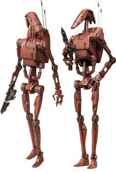 Star Wars Geonosis Infantry Battle Droid Sixth Scale Figure Star Wars Film, Droides Star Wars, Star Wars Canon, Star Wars Battle Droids, Edge Of The Empire, Star Wars Models, Star Wars Action Figures, Steampunk, Sideshow Collectibles