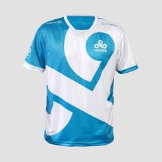 69e8a5600 Dota2 LOL CSGO Game Team C9 CLOUD9 Jersey T Shirt CSGO GAMING t-shirt fast