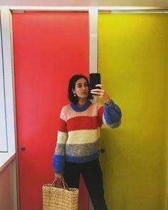 Ganni street style | Laura Jackson | The Julliard Mohair Pullover