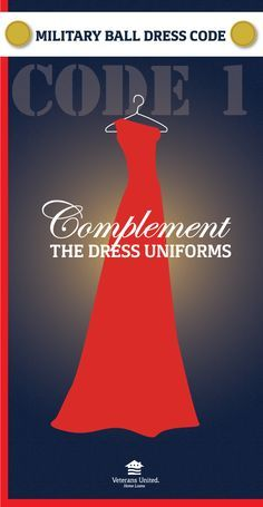 """""""A few rhinestones here and there are pretty, but don't overdo your military ball look with loud colors or flashy prints. Pick a classic color to complement your Service Member's uniform."""" Beautiful & Sophisticated - MilitaryAvenue.com"""