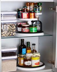 Pantry U0026 Storage   Single Lazy Susan On Bottom Shelf. OXO Good Grips 2 Tier