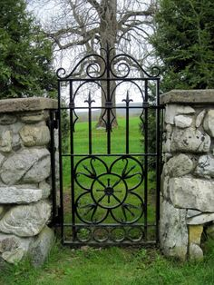 Custom Ornamental Iron Garden Gates and Pool Gates, Single and Double Opening Doors