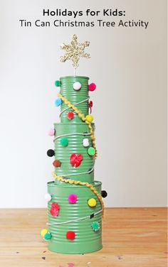 Christmas Tree Activity for kids... Love it!