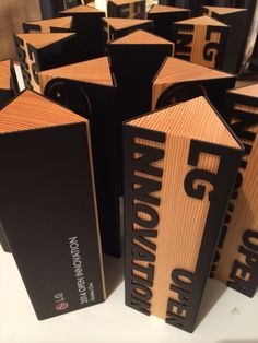 Our custom eco awards for LG USA