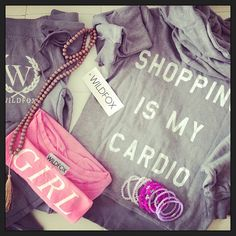 Shopping Is My Cardio Outfit