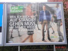 671. - Plakat in Stockach. / 18.10.2015./