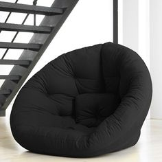 Fresh Futon: Nest Medium Black