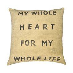 Sugarboo Designs My Whole Heart Pillow | Wayfair