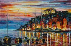 Sea Legend - By Leonid Afremov