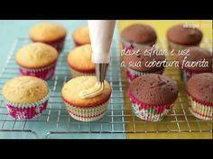 Como fazer: Cupcake! (Receita simples) - YouTube
