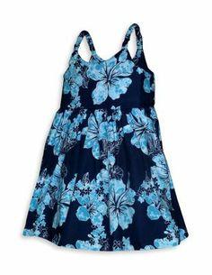 55f9bd18417c Hawaiian Baby Girl Dress Rain of Hibiscus : Shaka Time Hawaii Clothing Store  #girlsdresses Girls