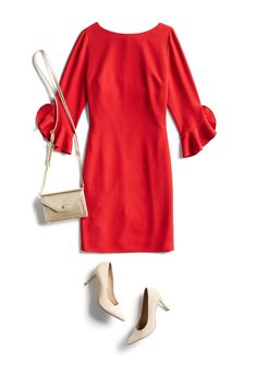 70df5cce79 I have this dress in black. I don t like the purse or shoes